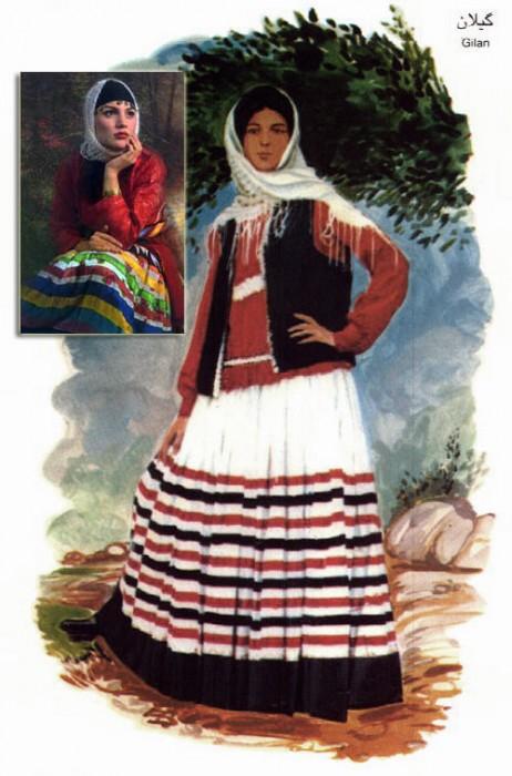 زن گیلانی