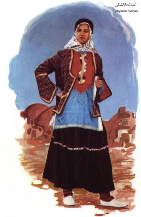 زن کاشانی