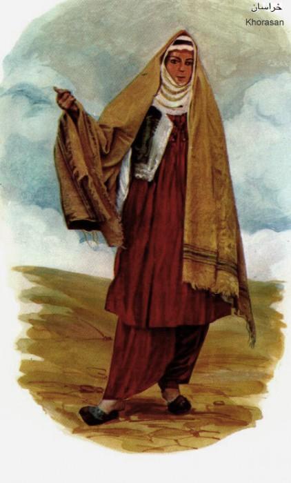 زن خراسانی