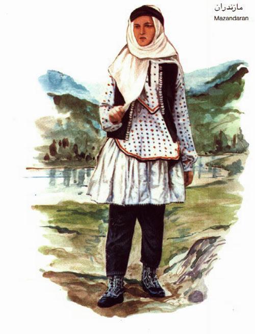 زن مازندرانی