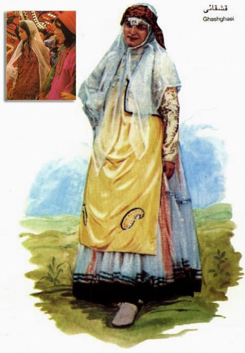 زن قشقایی