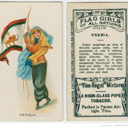 Flag girls of all Nations (ca. 1901-1917)