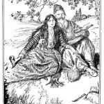 Edmund J Sullivan Illustrations to The Rubaiyat of Omar Khayyam (72)