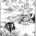 Edmund J Sullivan Illustrations to The Rubaiyat of Omar Khayyam (48)