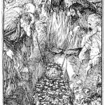 Edmund J Sullivan Illustrations to The Rubaiyat of Omar Khayyam (7)