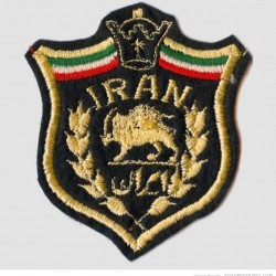 Lion and Sun on Mohammad Reza Pahlavi Era Military Badge