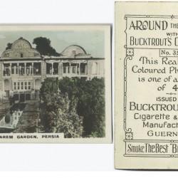 Around the World, Places of Interest, Harem Garden, Persia. (ca. 1919-1929)