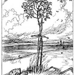 Edmund J Sullivan Illustrations to The Rubaiyat of Omar Khayyam (51)