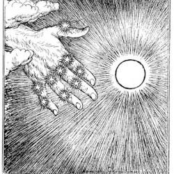 Edmund J Sullivan Illustrations to The Rubaiyat of Omar Khayyam (23)