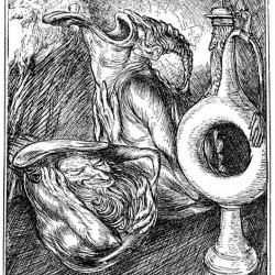 Edmund J Sullivan Illustrations to The Rubaiyat of Omar Khayyam (10)