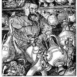 Edmund J Sullivan Illustrations to The Rubaiyat of Omar Khayyam (8)