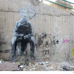 Graffiti on Tehran canal walls (13)