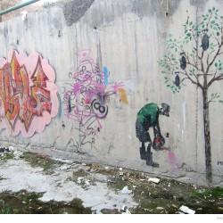 Graffiti on Tehran canal walls (16)