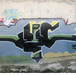 Graffiti on Tehran canal walls (19)