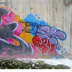 Graffiti on Tehran canal walls (28)