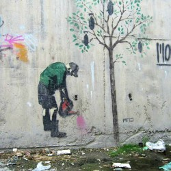 Graffiti on Tehran canal walls (35)