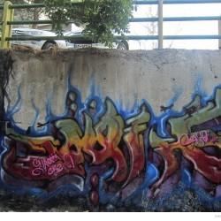 Graffiti on Tehran canal walls (47)