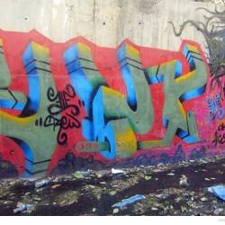 Graffiti on Tehran canal walls (56)