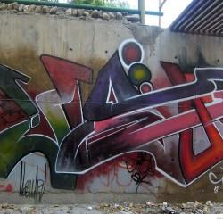 Graffiti on Tehran canal walls (68)