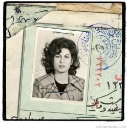 Irandokht, born in 1942 (41)