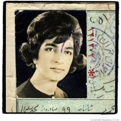 Irandokht, born in 1942 (59)