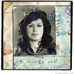 Irandokht, born in 1942 (101)