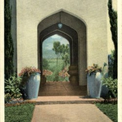 Samarkand Persian Hotel. Santabarbara, California
