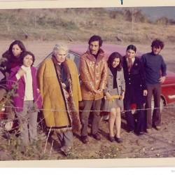 Shamloo in Zaghemarz. April 1973.