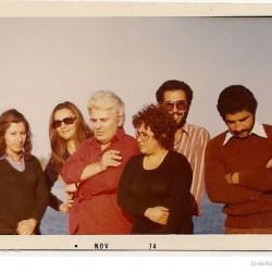 Zaghemarz beach, Caspian Sea. October 26, 1973.