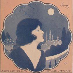 ترانه «ماه ایرانی» (۱۹۲۰) از جئو هالتن