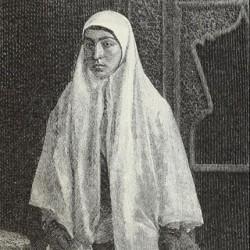 Winter in-door costume