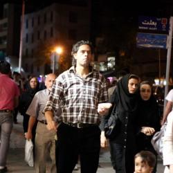 تهران در شب
